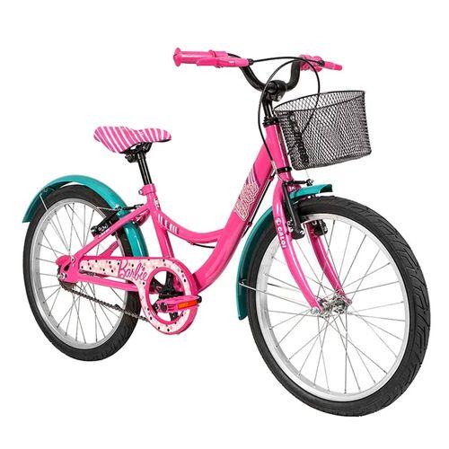 Bicicleta Aro 20 - Barbie - Rosa - Caloi
