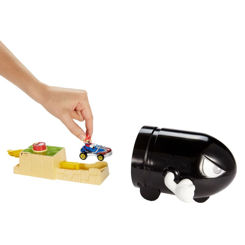 lancador-e-mini-veiculo-hot-wheels-mario-kart-bullet-bill-mattel-GKY54_Detalhe1
