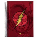 caderno-universitario-espiralado-capa-dura-1-materia-dc-comics-the-flash-96-folhas-jandaia-59240-20_Frente
