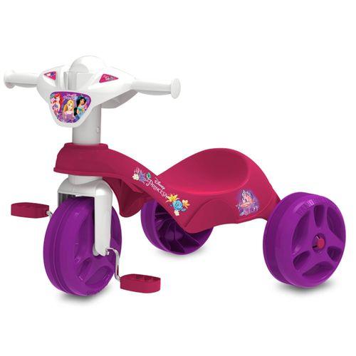 Triciclo Tico-Tico - Pedal - Disney - Princesas Disney - Rosa - Bandeirante