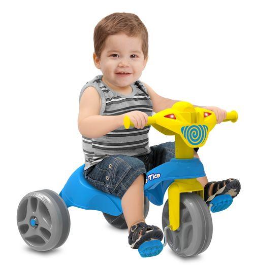 Triciclo Tico-Tico - Club Pedal - Azul - Bandeirante