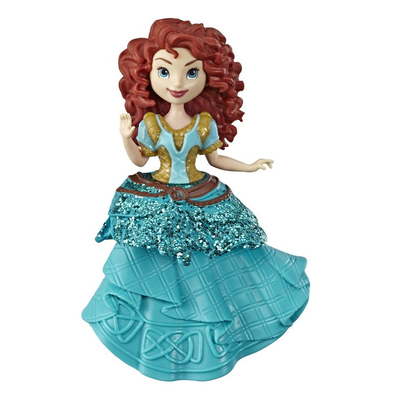 Mini-Boneca---15-Cm---Disney---Princesas---Royal-Clips---Merida---Hasbro