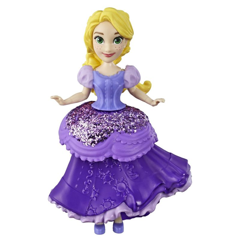 Mini-Boneca---15-Cm---Disney---Princesas---Royal-Clips---Rapunzel---Hasbro