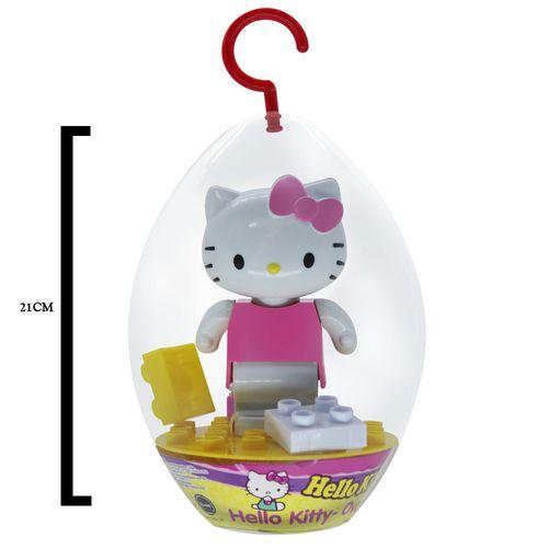 Blocos de Montar - Hello Kitty - Ovo Divertido - Embalagem de Páscoa - Monte Líbano
