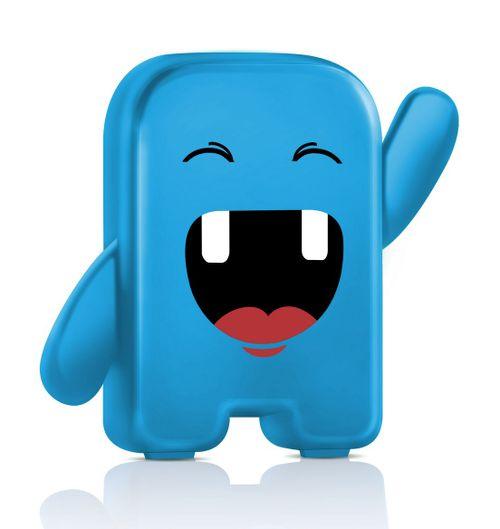 Porta Dentinhos Azul Angie
