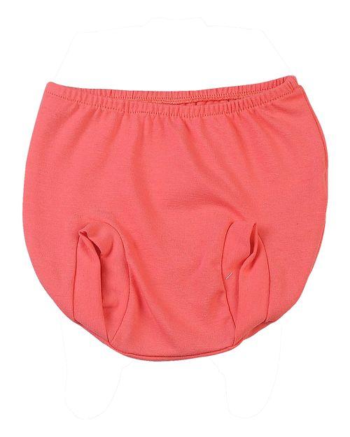 Shorts Bebê Tampa Fralda de Cotton - Laranja