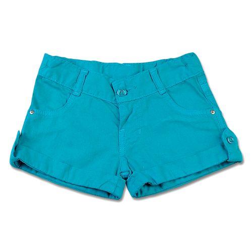 Shorts Infantil de Tela Tinturada - Verde