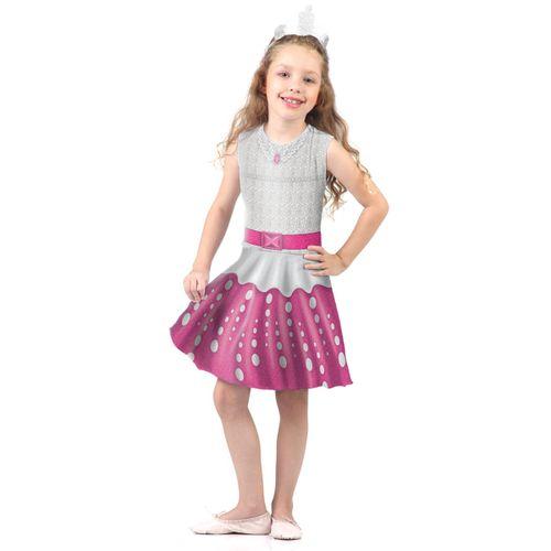 Fantasia Barbie Rock In Royals Infantil Pop
