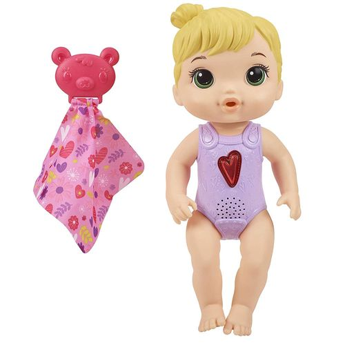 Boneca Baby Alive - Coraçãozinho - Loira - E6946 - Hasbro