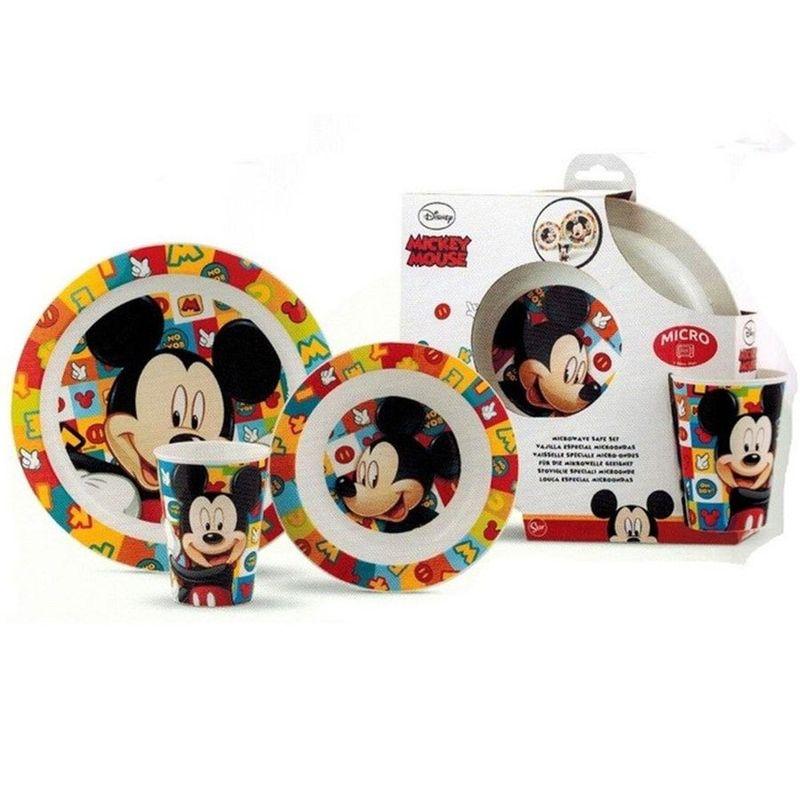 conjunto-de-alimentacao-disney-mickey-mouse-pratinho-e-copo-3-pecas-lillo_frente