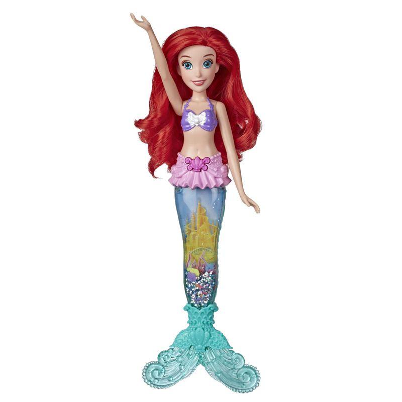 Boneca-Articulada---Princesas-Disney---Ariel---Luz-e-Brilho---Hasbro