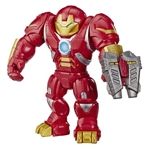 Figura Articulada - 30 Cm - Disney - Marvel - Mega Mighties - Super Hero Adventures - Homem de Ferro - Hulkbuster - Hasbro