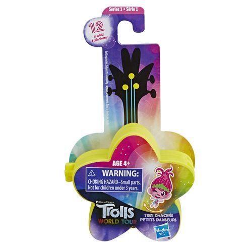 Mini Figura com Acessórios - Trolls - Pequenos Dançarinos - Estrela - Amarelo - Hasbro