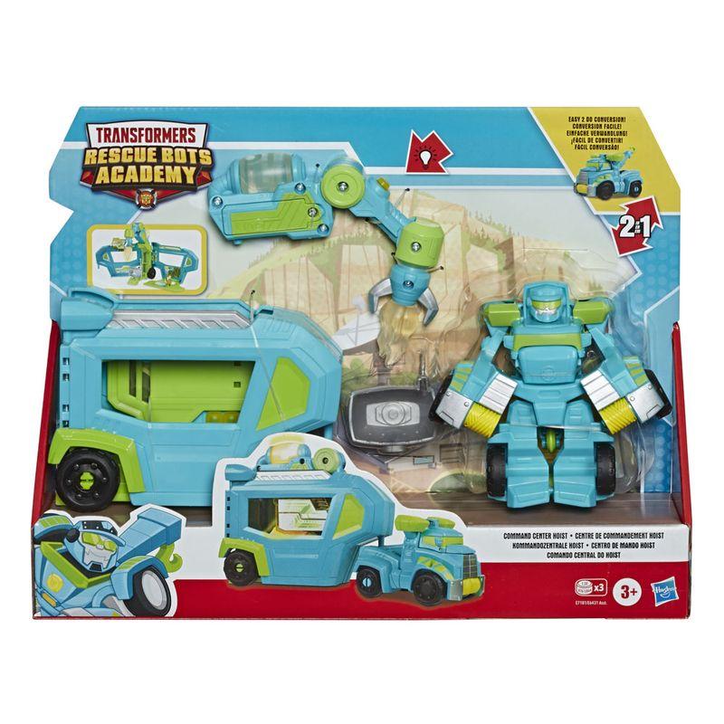 Boneco-Transformavel-11-Cm---Transformers---Rescue-Bots-Academy---Comando-Central-do-Hoist---Hasbro
