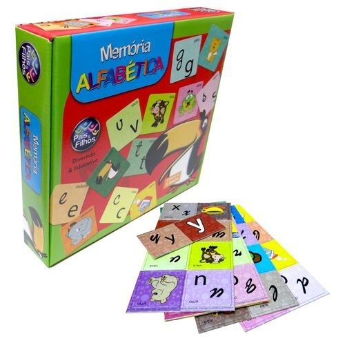 Jogo da Memória Alfabética Pais e Filhos 2814 (690799)
