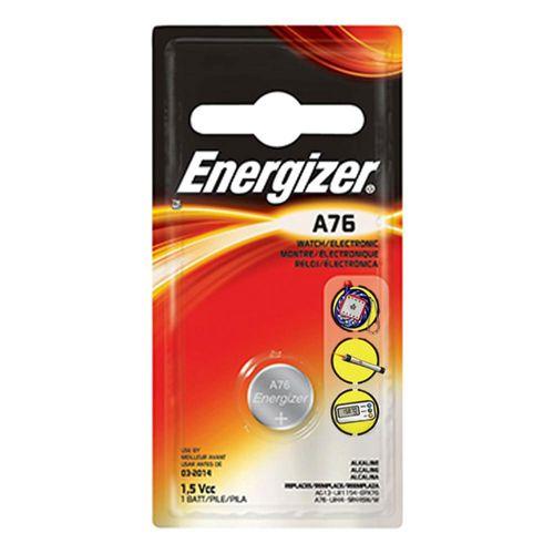 Bateria Alcalina - A76 - LR44 - Cartela Unitária - Energizer Max