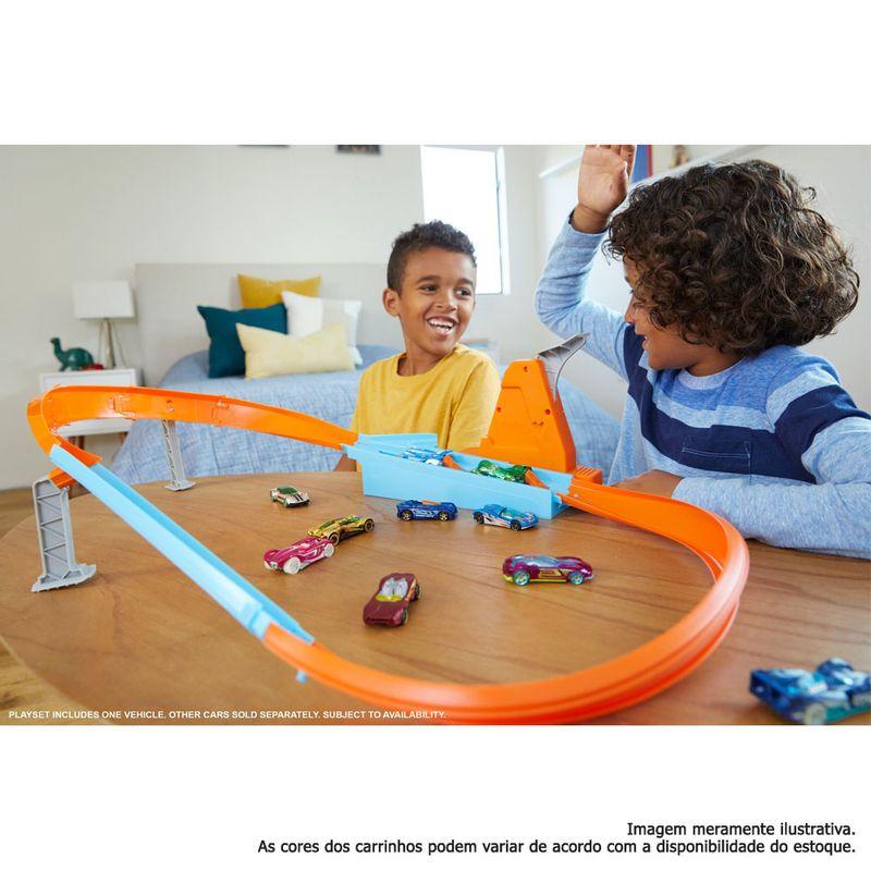 Pista-e-Veiculo---Hot-Wheels---Action---Campeao-Pista-Rapida---Mattel