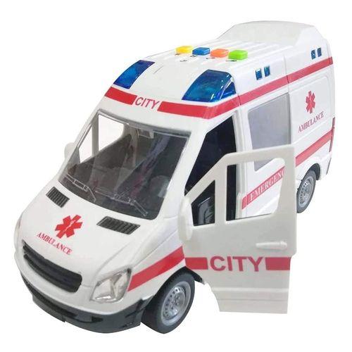 Mini Veículo - 1:16 - Ambulância - Resgate - Shiny Toys
