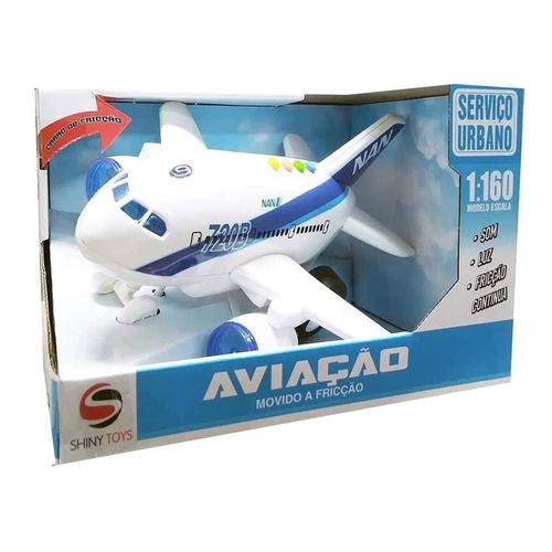 Mini Veículo - 1:160 - Aviação - Serviço Urbano - Shiny Toys