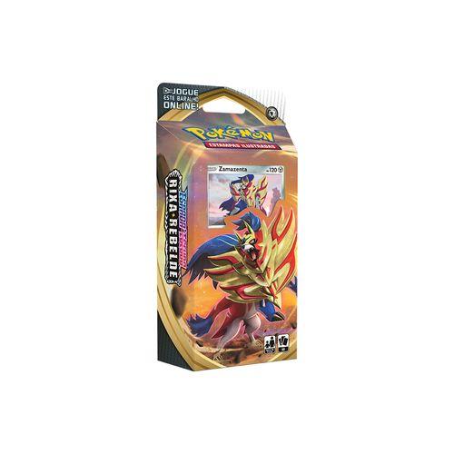 Cards Pokémon - Starter Deck - Espada e Escudo - Rixa Rebelde - Copag