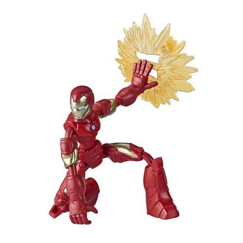 Figura Articulada - Bend And Flex - Disney - Marvel - Vingadores - Homem de Ferro - Hasbro