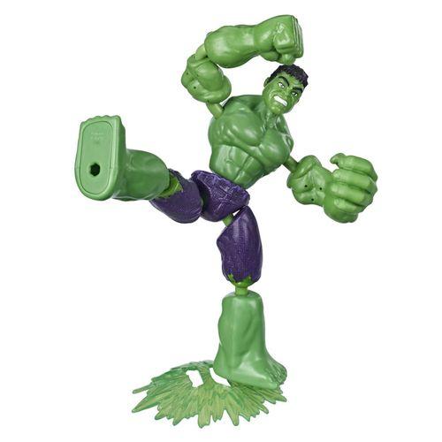 Figura Articulada - Bend And Flex - Disney - Marvel - Vingadores - Hulk - Hasbro