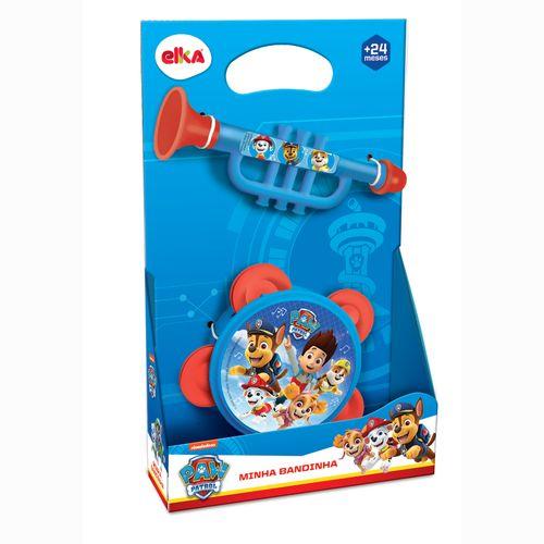 Brinquedo Musical - Conjunto De Instrumentos - Patrulha Canina - Elka