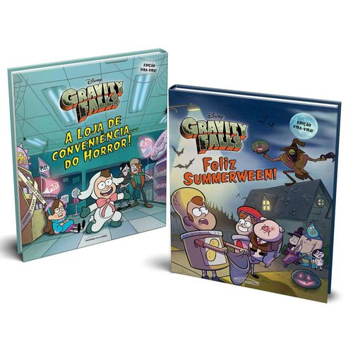 Livro Infantil - Gravity Falls - Vira Vira - Universo dos Livros