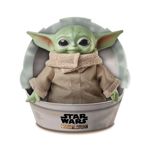 Pelúcia Básica - 28Cm - Disney - Star Wars - Baby Yoda - Mattel