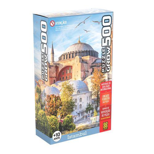 Quebra-Cabeça - 500 Peças - Istambul - Grow