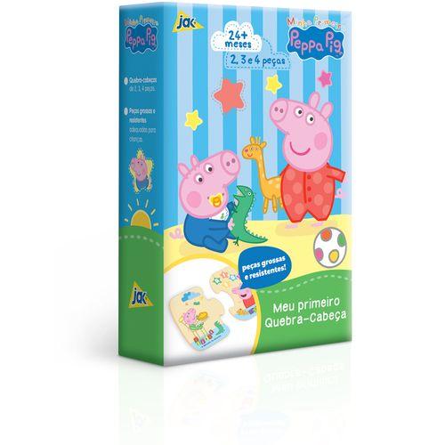 Quebra-Cabeça Progressivo - 2,3 e 4 Peças - Peppa Pig - Toyster