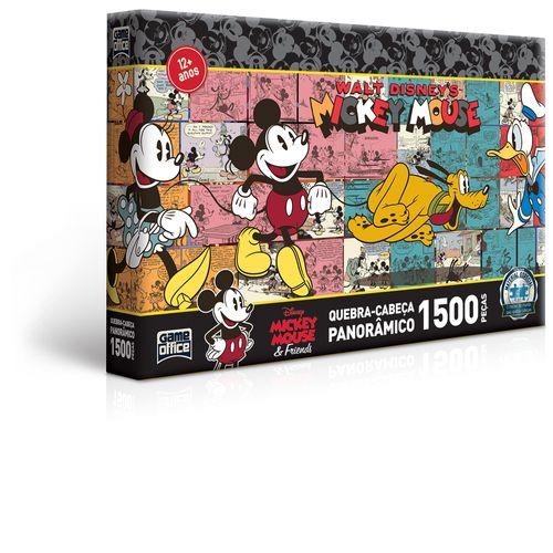 Quebra-Cabeça - 1500 Peças - Disney - Turma do Mickey Mouse - Toyster