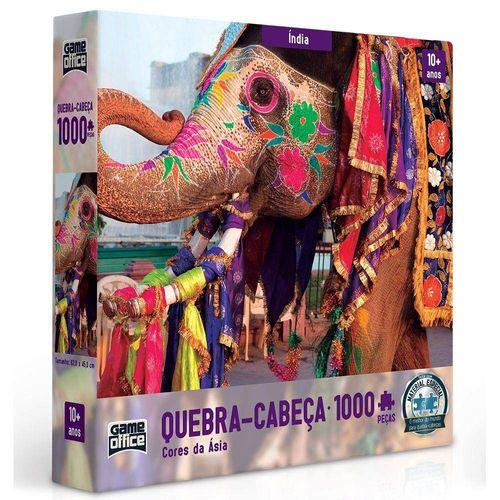 Quebra-cabeça - Cores da Ásia – 1000 peças - India - Toyster