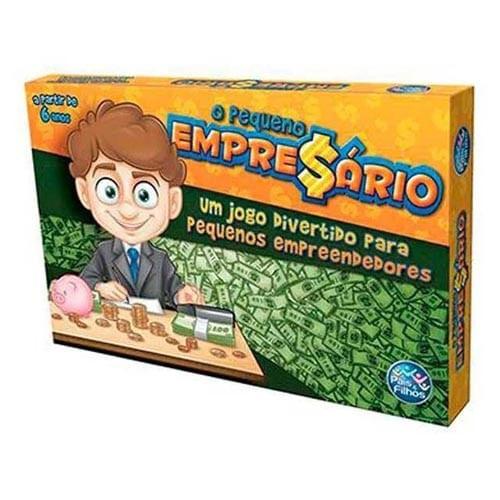 Jogo O Pequeno Empresário - Pais E Filhos (238106)