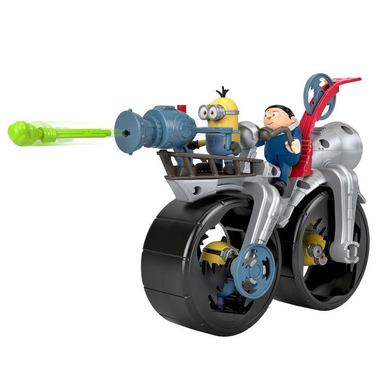 Mini-Figura-e-Veiculo---Minions---Imaginext---Cinza--Mattel-0