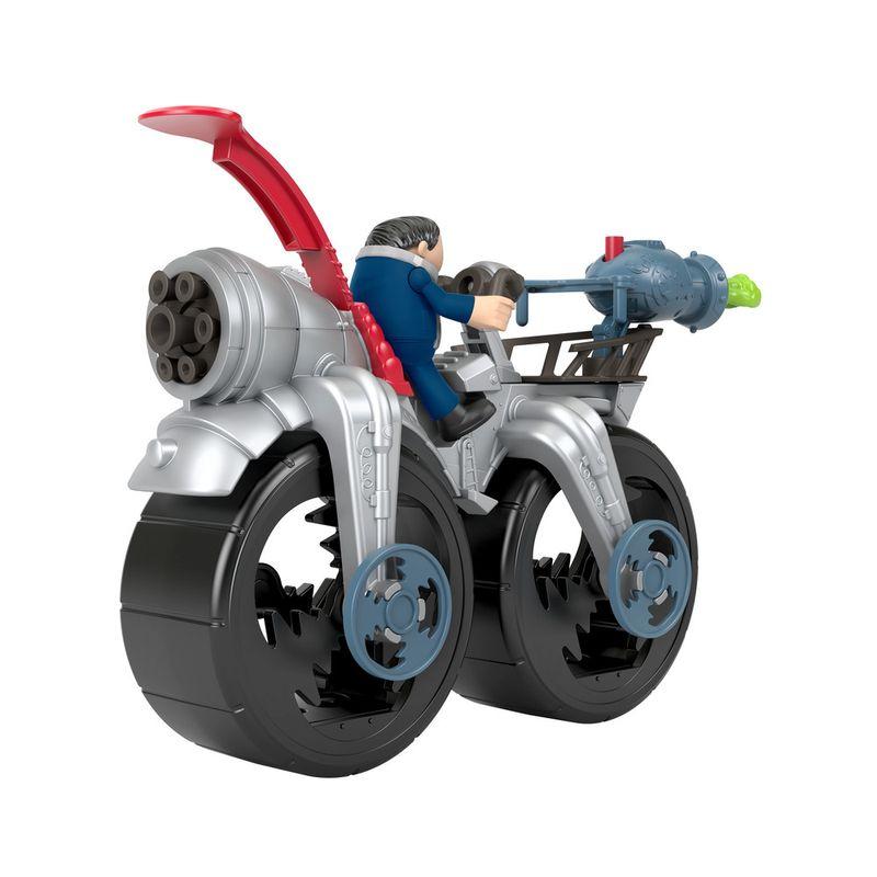 Mini-Figura-e-Veiculo---Minions---Imaginext---Cinza--Mattel-3