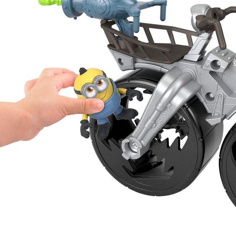 Mini-Figura-e-Veiculo---Minions---Imaginext---Cinza--Mattel-5
