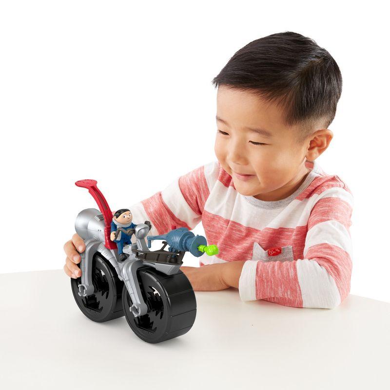 Mini-Figura-e-Veiculo---Minions---Imaginext---Cinza--Mattel-6
