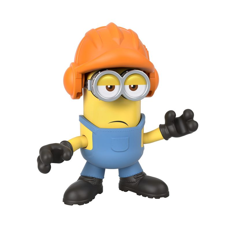 Mini-Figura---Imaginext-Minions-Construtor-Kevi---Amarelo---Fisher-Price---Mattel--2