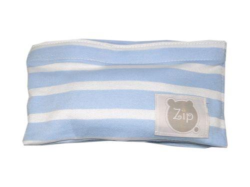 Faixa Térmica Abdominal com Ervas para Bebês – Zip Toys – Menino – Algodão – Azul