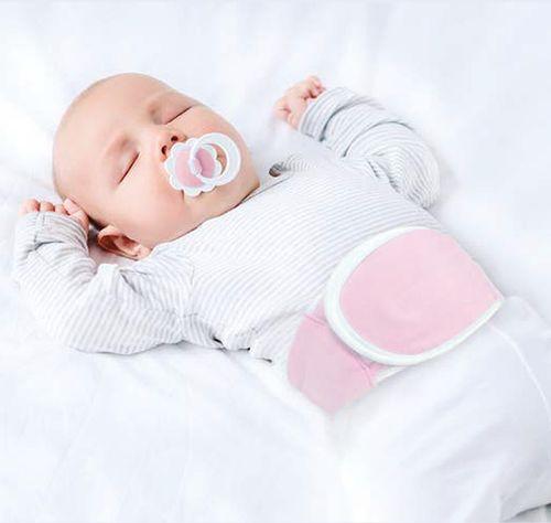 Cinta Térmica Para Bebês com Gel Para Cólicas  – Buba Toys – Menina – Algodão – Rosa