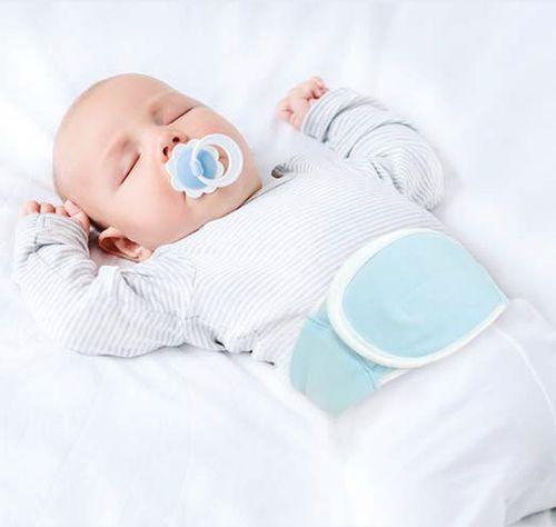 Cinta Térmica Para Bebês com Gel Para Cólicas  – Buba Toys – Menino – Algodão – Azul