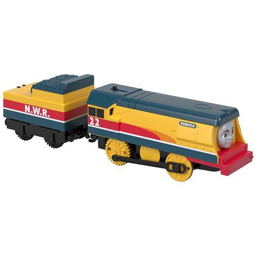 Locomotiva Thomas e Seus Amigos - Trens Motorizados - Rebecca - Fisher-Price