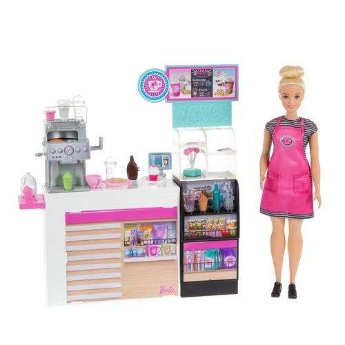 Playset e Boneca Barbie - Barbie Careers - Cafeteria - Mattel