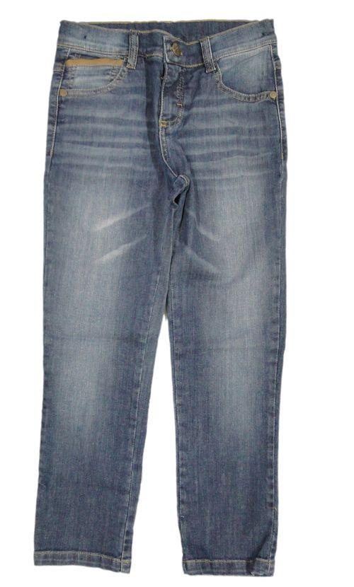 Calça - Tradicional – Bittix – Menino – Jeans – Caramelo – 6