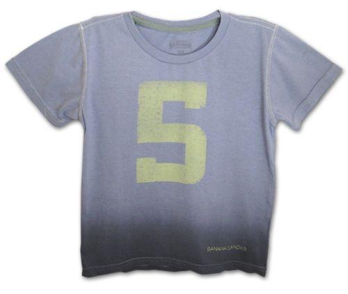 Camiseta Five – Banana Danger – Menino – Malha – Cinza – 8