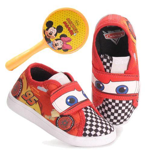 Tênis -  Carros Disney – Calçados Diversão – Menino – Vermelho