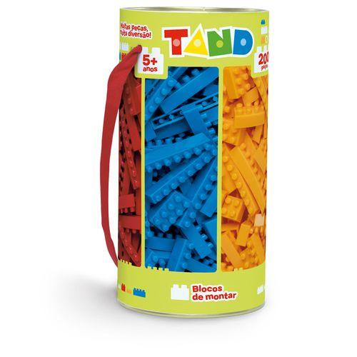 Blocos De Encaixe - Tand Kids - 200 Peças - Toyster