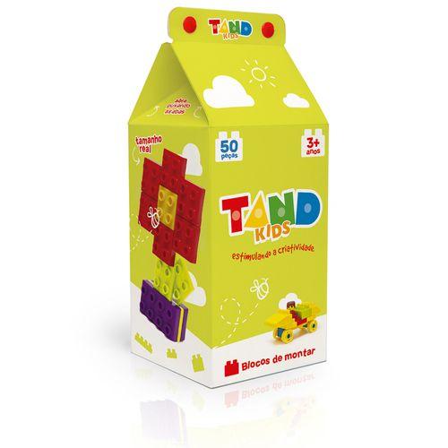 Blocos De Encaixe - Tand Kids - 50 Peças - Toyster