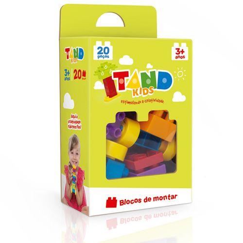 Blocos De Encaixe - Tand Kids - 20 Peças - Toyster